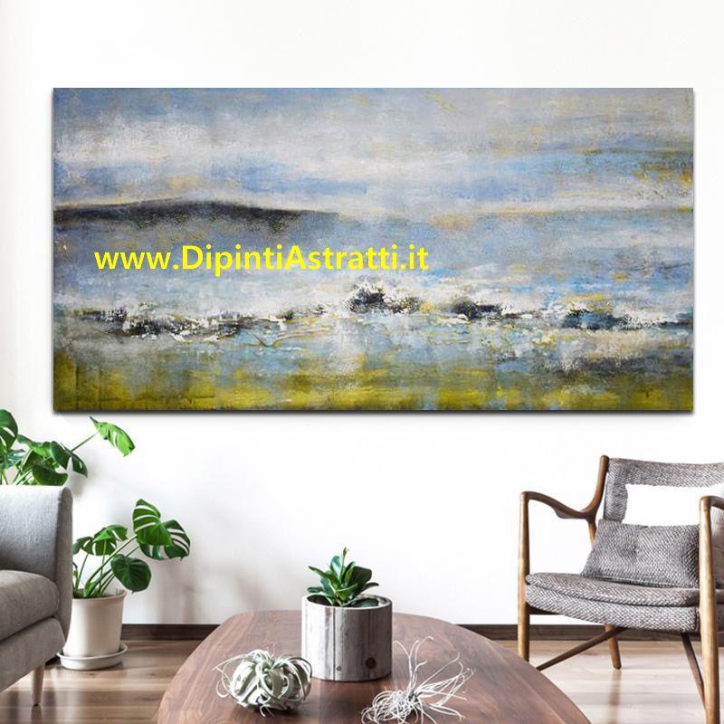 Quadro moderno decorativo living arredamento dipintiastratti for Arredamento living moderno
