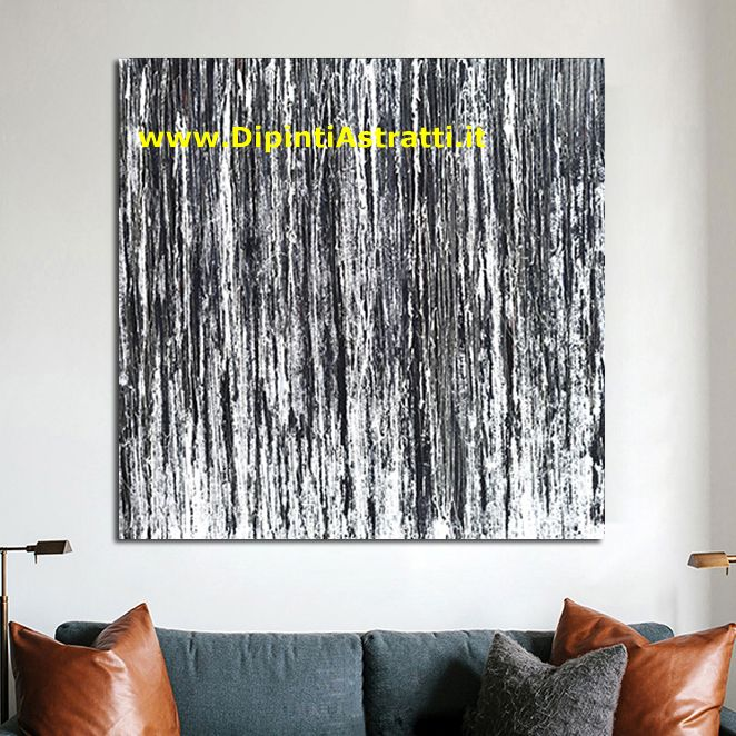 Quadri astratti bianco e nero dipintiastratti for Quadri moderni astratti su tela